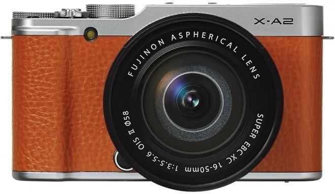 Fujifilm X-A2 + 16-50mm Kit, pruun