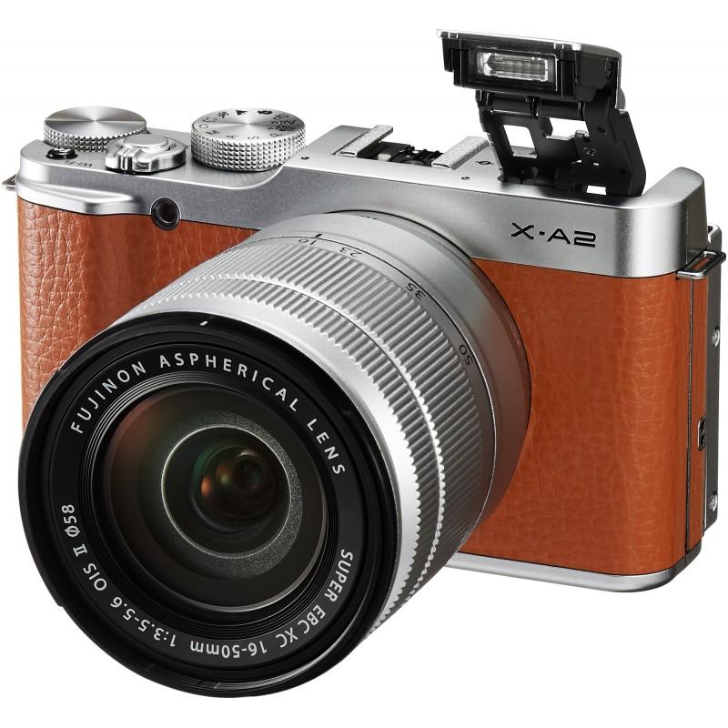 Fujifilm X-A2 + 16-50mm, pruun