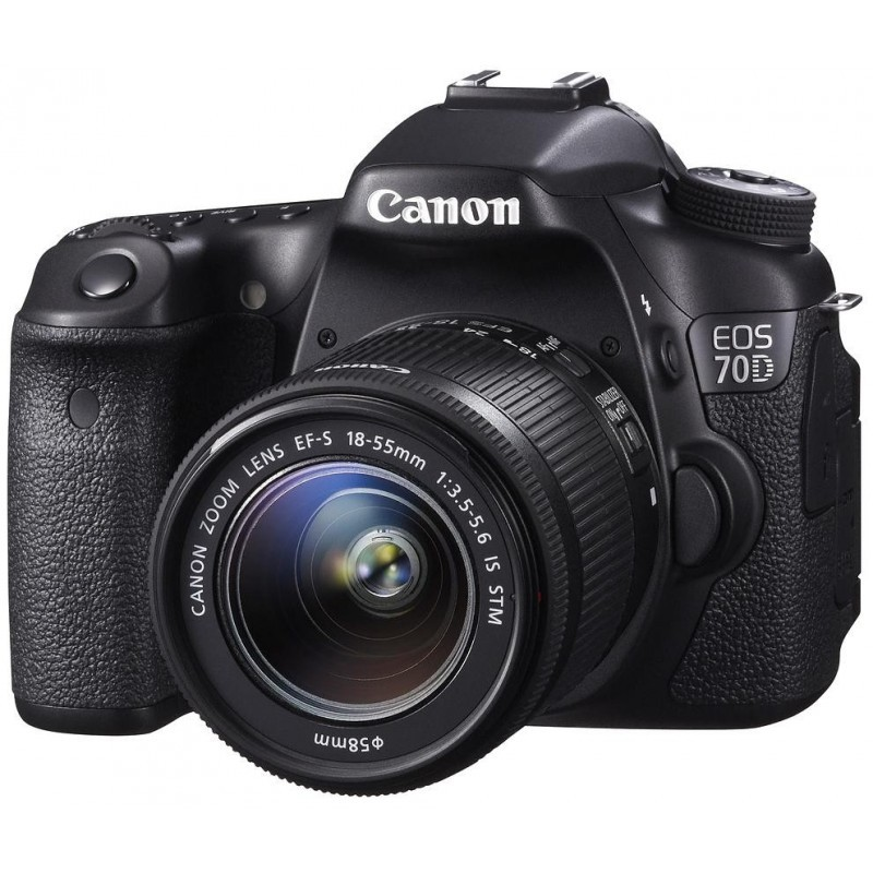 Canon EOS 70D + 18-55mm IS STM Kit + 430EX II