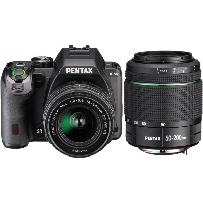 Pentax K-S2 + 18-50mm WR + 50-200mm WR Kit, must
