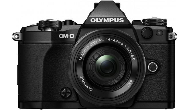 Olympus OM-D E-M5 Mark II + 14-42мм EZ Kit, черный