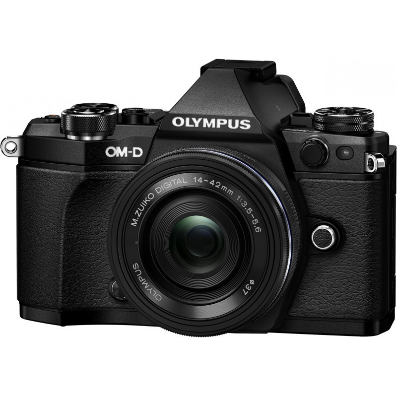 Olympus OM-D E-M5 Mark II + 14-42mm EZ Kit, black