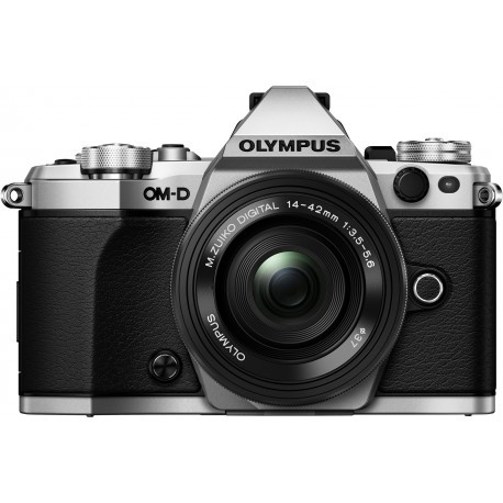 Olympus OM-D E-M5 Mark II + 14-42mm EZ Kit, silver