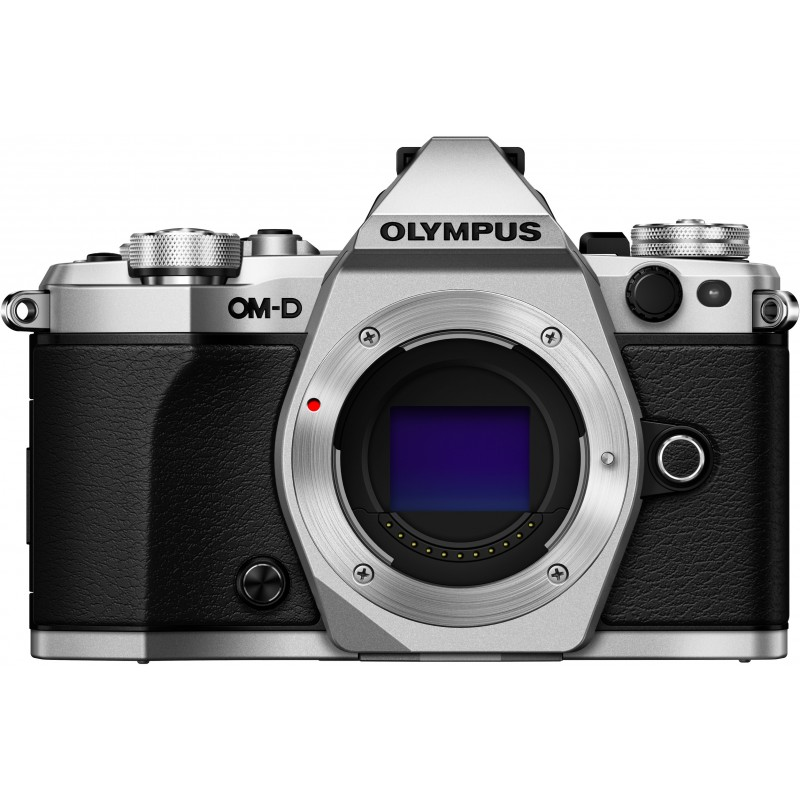 Olympus OM-D E-M5 Mark II + 14-42mm EZ Kit, hõbedane