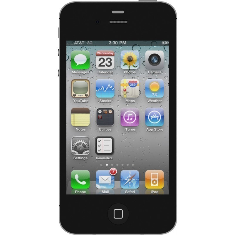 Apple iPhone 4S 8GB A1387, black