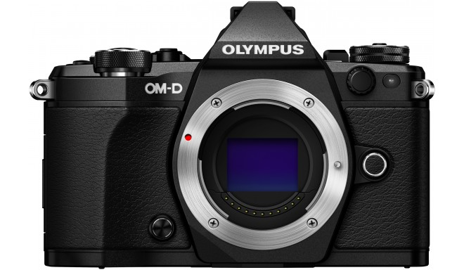 Olympus OM-D E-M5 Mark II + Tamron 14-150mm, black