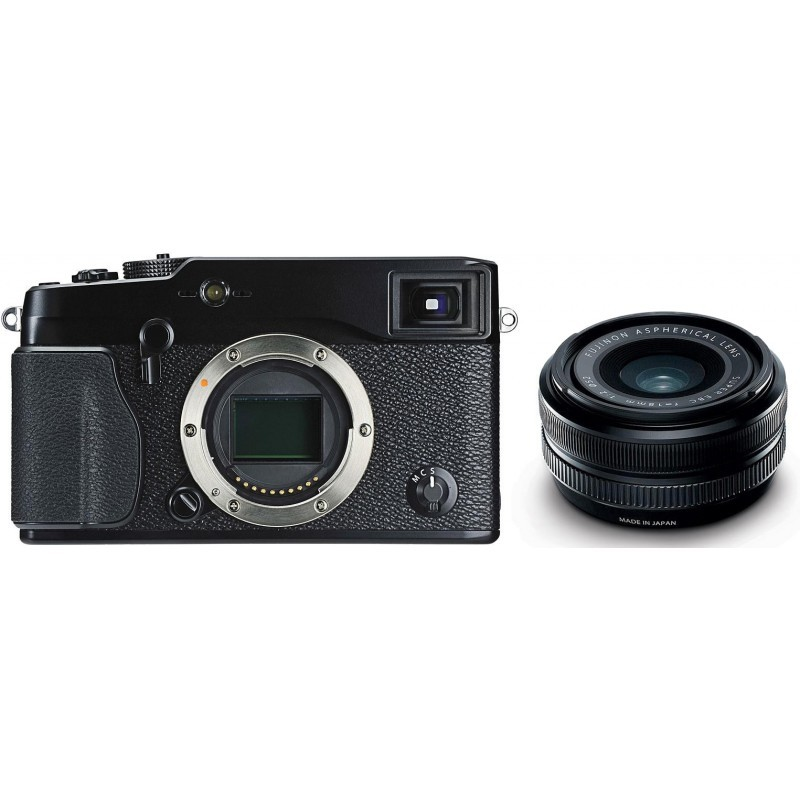 Fujifilm X-Pro1 + 18мм f/2.0 объектив