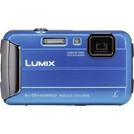 Panasonic Lumix DMC-FT30, синий