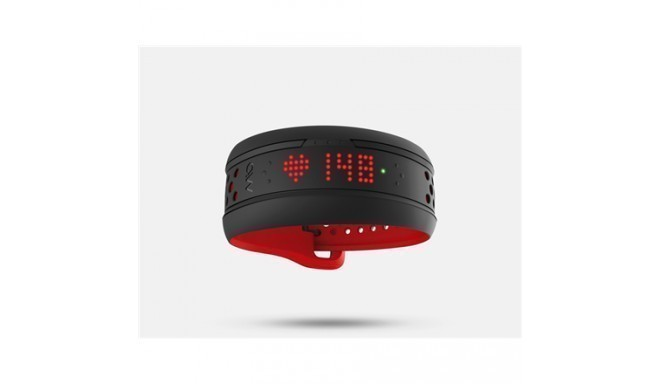 Mio FUSE LED, 39 g, Black, Red, Waterproof