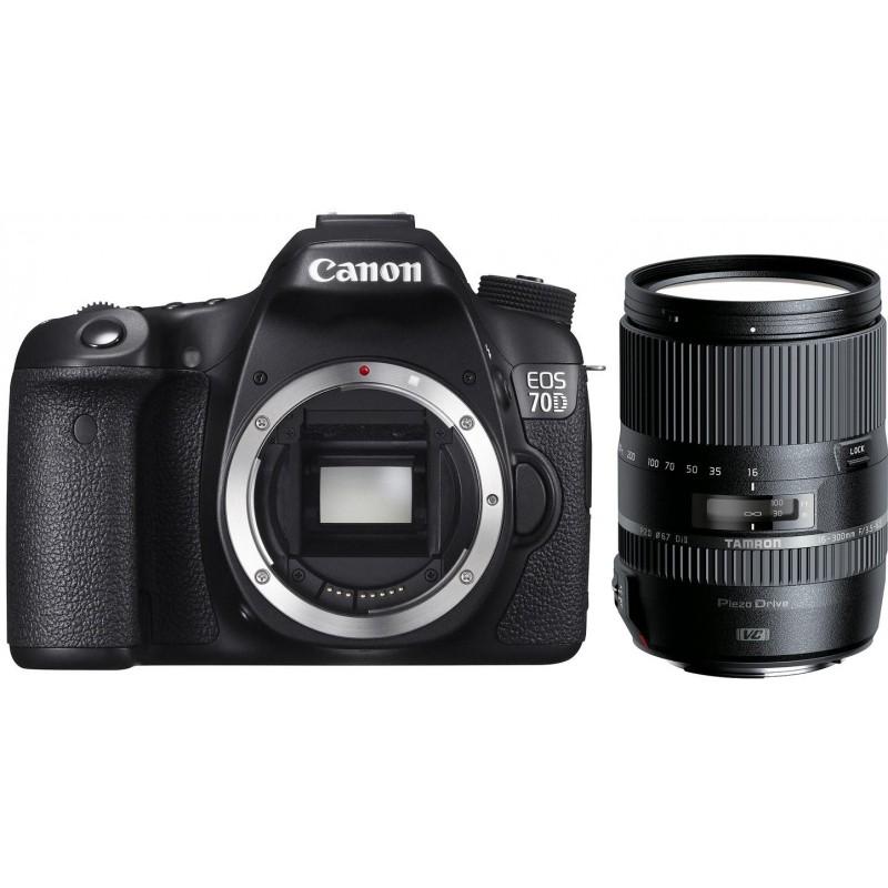 Canon EOS 70D + Tamron 16-300мм VC PZD