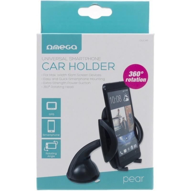 07aa536cabb Omega universaalne telefonihoidik autosse Pear, must (OUCHPB ...