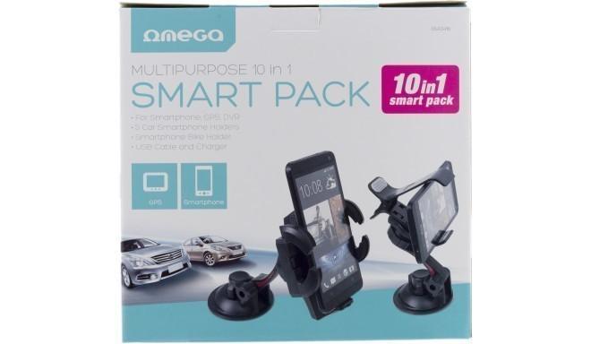 Omega telefoni tarvikute komplekt 10in1 Smart Pack (OUCH10)
