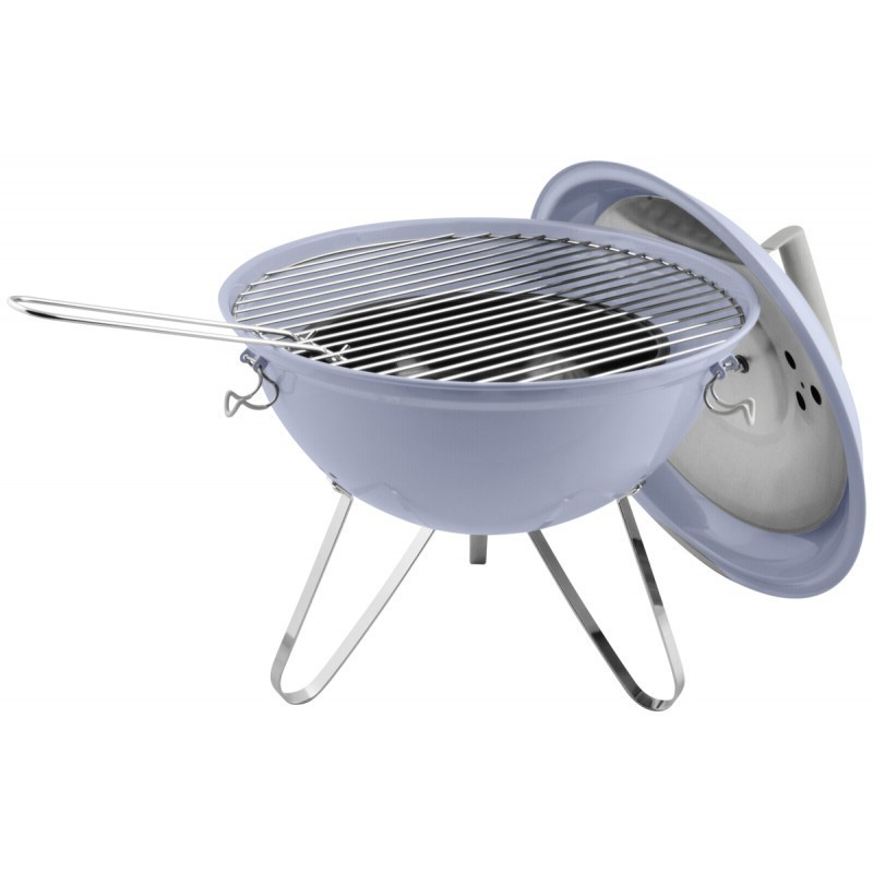 Dangrill Picnic BBQ Grill lightblue - Charcoal grills - Photopoint