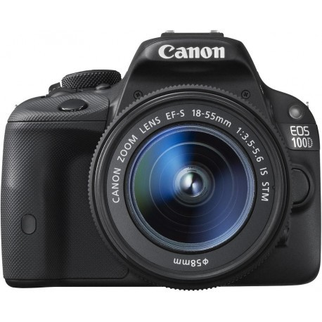 Canon EOS 100D + 18-55mm IS STM + LP-E12 + puhastuslapp Kit