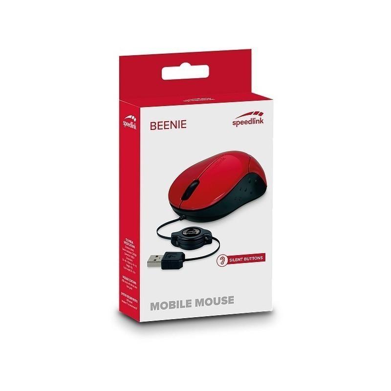 Speedlink hiir Beenie, punane (SL-610012-RD)