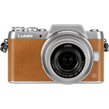Panasonic Lumix DMC-GF7 + 12-32mm Kit, brown