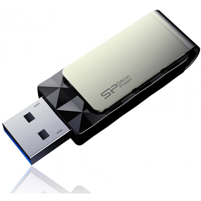 Silicon Power Flash Drive 8gb Blaze B30 Usb 3 0 Black
