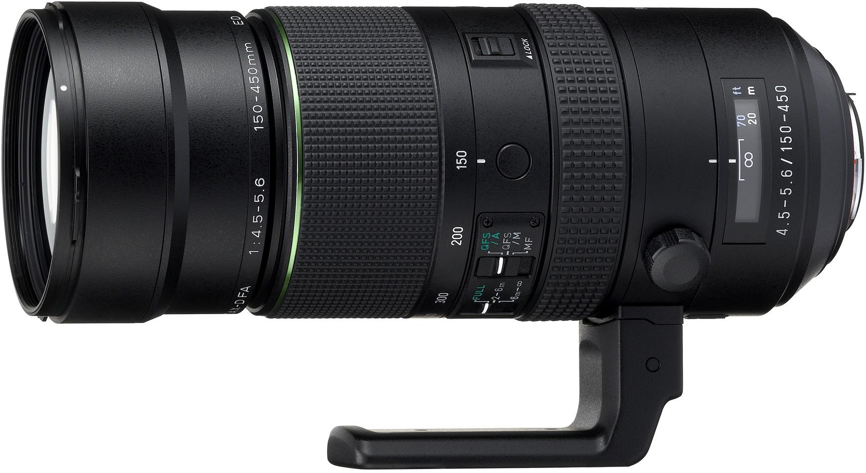 HD Pentax D-FA 150-450mm f/4.5-5.6 ED DC..