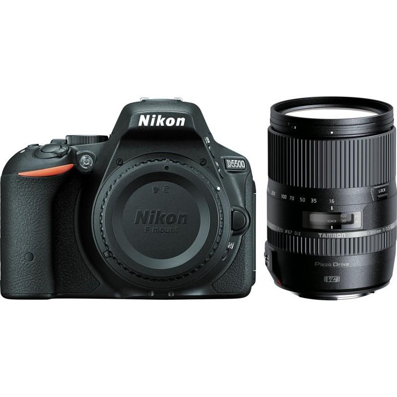 Nikon D5500 + Tamron 16-300mm VC PZD