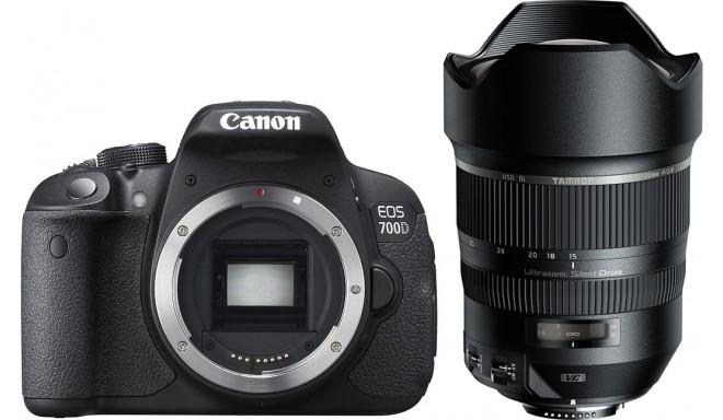 Canon EOS 700D + Tamron 15-30mm VC USD