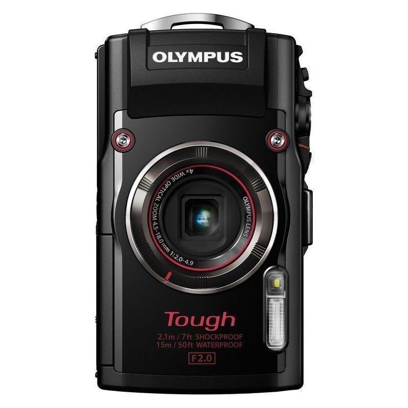 olympus stylus tough tg 4 black compact cameras. Black Bedroom Furniture Sets. Home Design Ideas