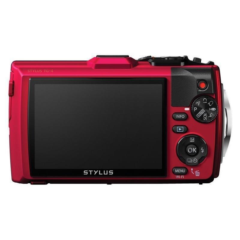 Olympus Stylus TG-4, red
