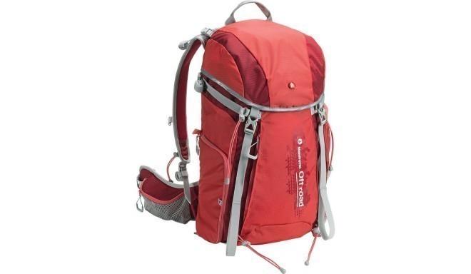 Manfrotto seljakott OffRoad Hiker 30L, punane
