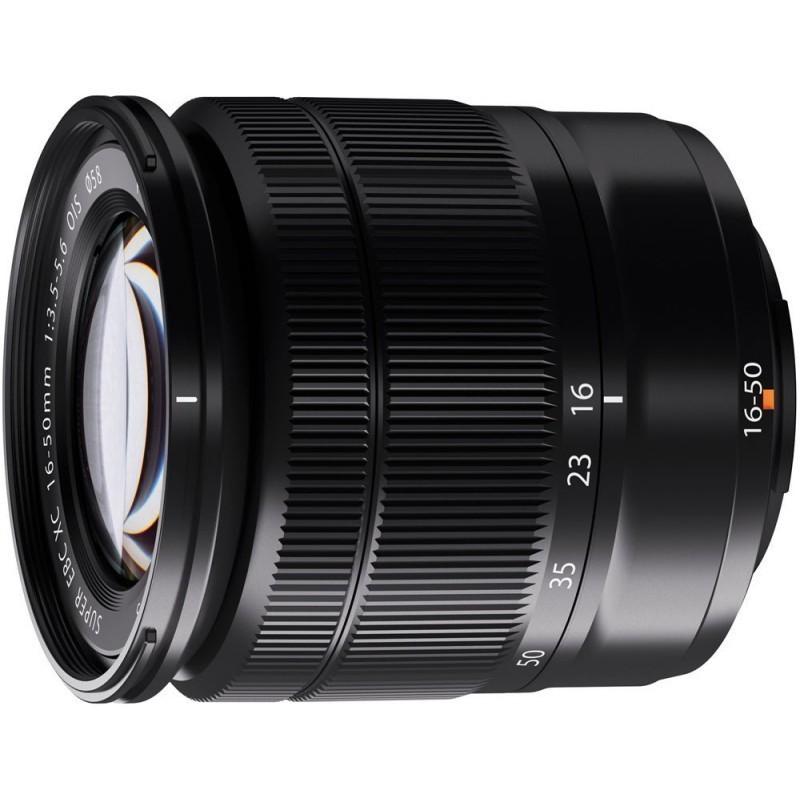 Fujifilm XC 16-50mm f/3.5-5.6 OIS lens, black