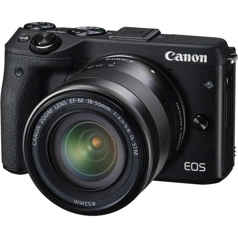 Canon EOS M3 + 18-55 IS STM + Viewfinder Kit