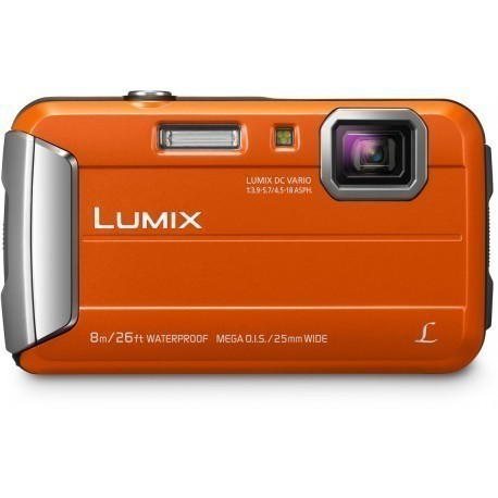 Panasonic Lumix DMC-FT30, oranž