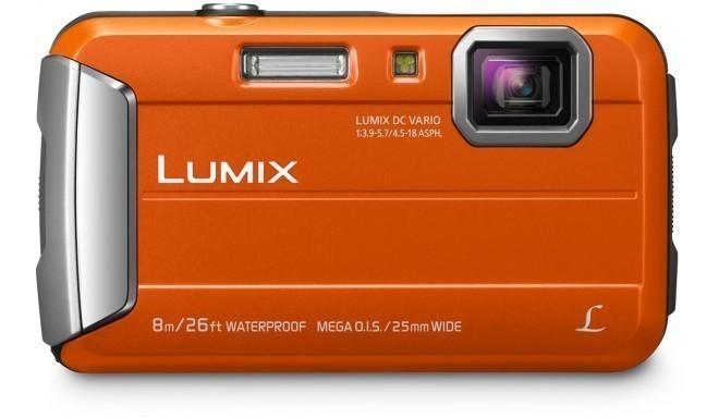 Panasonic Lumix DMC-FT30, oranž