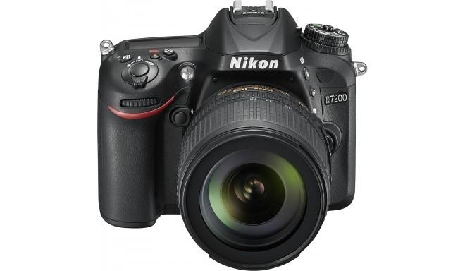 Nikon D7200 + 18-105mm VR II Kit