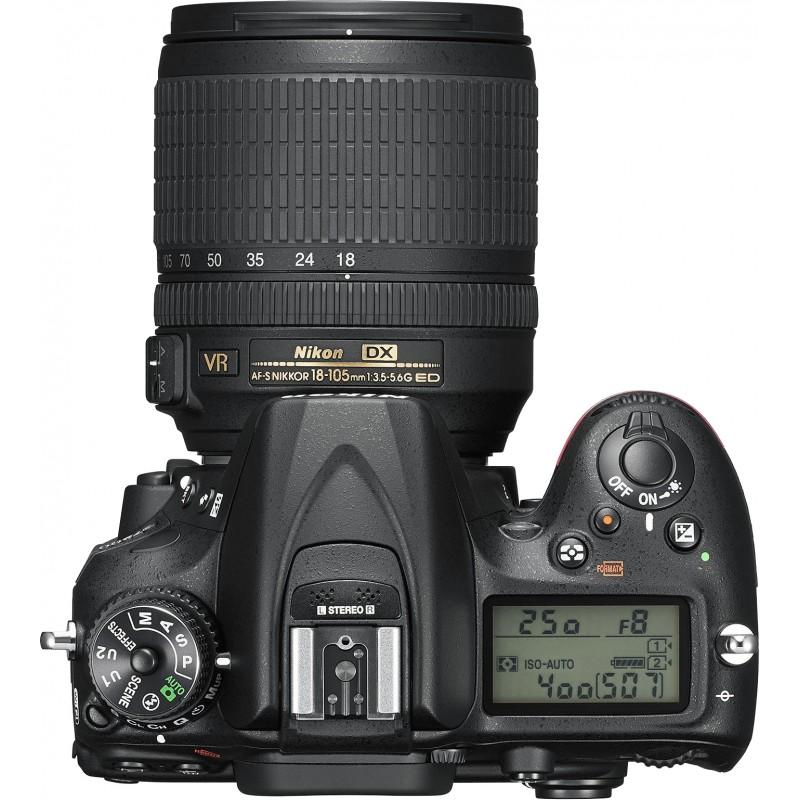 Nikon D7200 + 18-105mm VR II Kit, must
