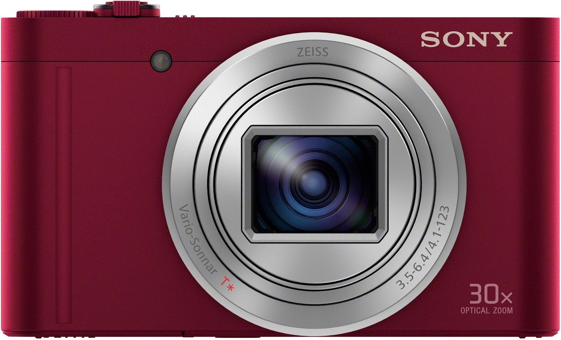 Sony DSC-WX500, punane