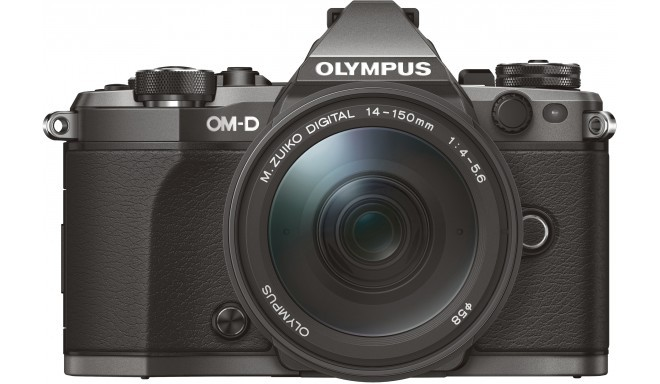 Olympus OM-D E-M5 Mark II Limited Edition Titanium + 14-150mm Kit
