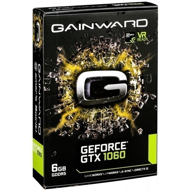 Gainward GeForce GTX1060 6GB GDDR5 HDMI DVI DP
