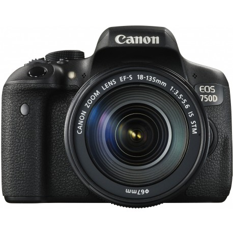 Canon EOS 750D + 18-135мм IS STM Kit