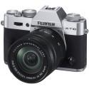 Fujifilm X-T10 + 16-50mm Kit, hõbedane