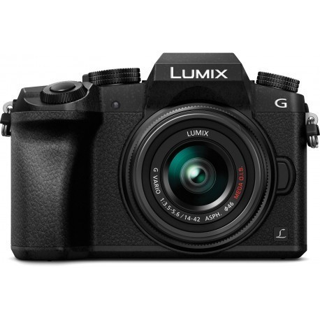 Panasonic Lumix DMC-G7 + 14-42mm Kit, black