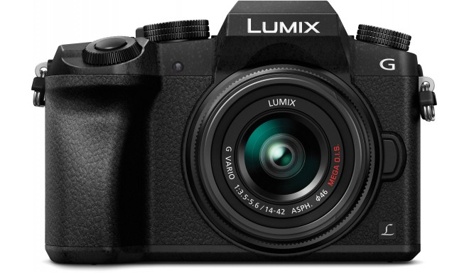 Panasonic Lumix DMC-G7 + 14-42mm Kit, black