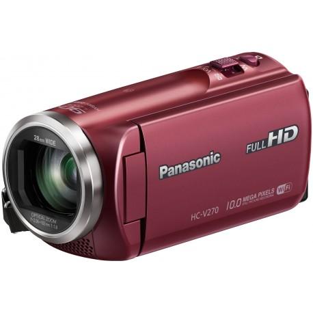 Panasonic HC-V270, punane