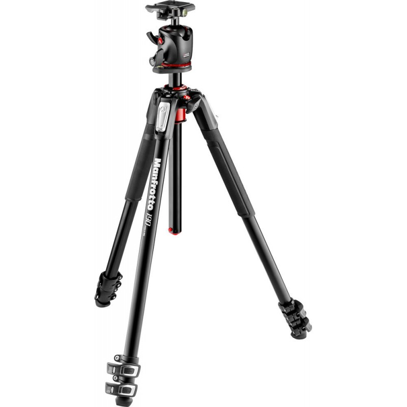 Manfrotto tripod kit MK190XPRO3-BHQ2 Alu 3 Kit