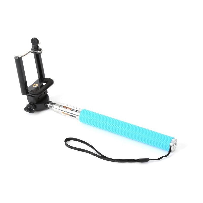 Omega käsistatiiv Selfie Monopod OMMPKB, sinine (43018)