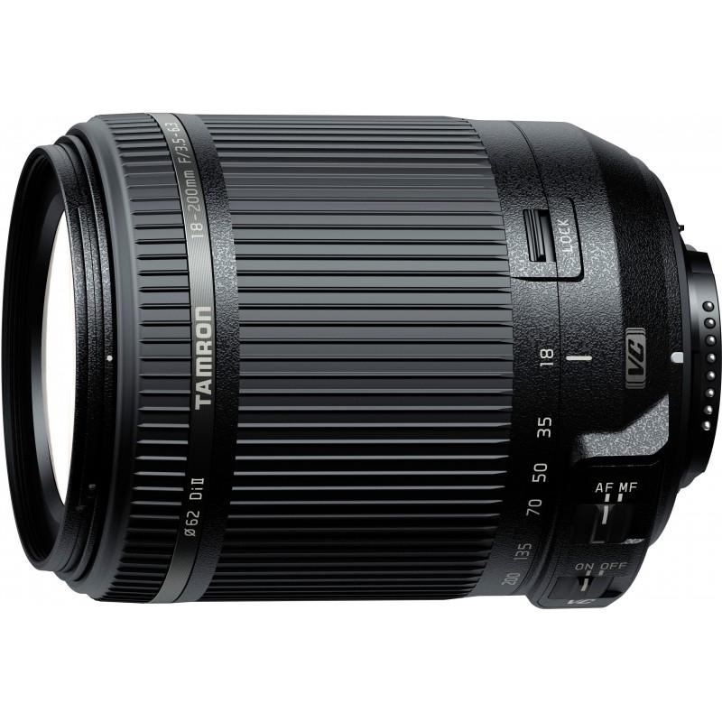 Tamron 18-200mm f/3.5-6.3 DI II VC lens for Nikon