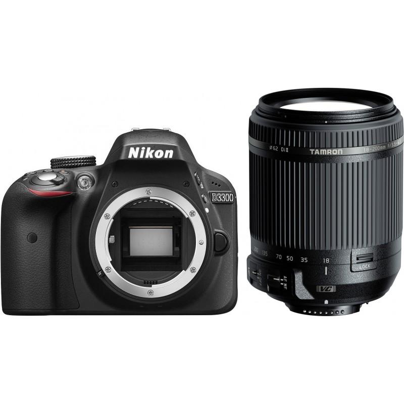 Nikon D3300 + Tamron 18-200mm VC