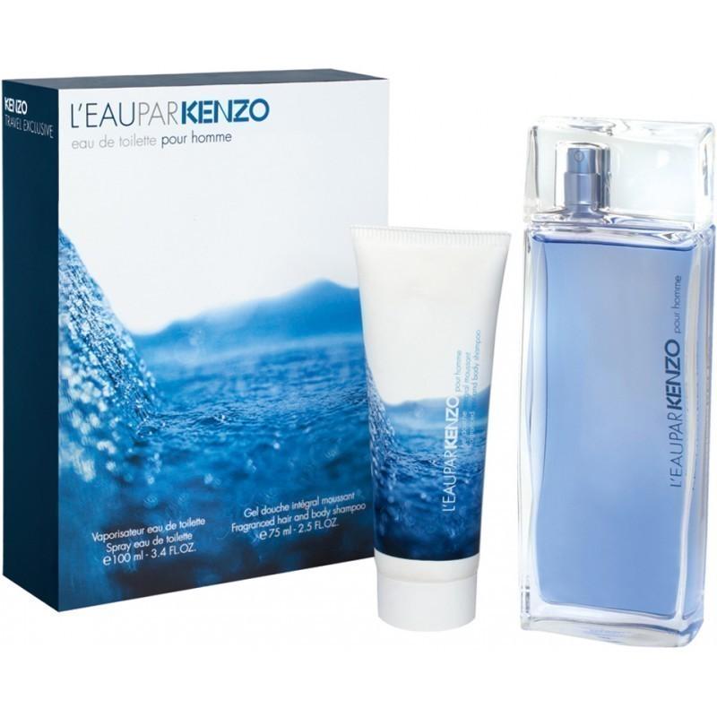 eba3ad5b Kenzo L'eau par Kenzo Pour Homme Eau de Toilette 100ml + shower gel 75ml