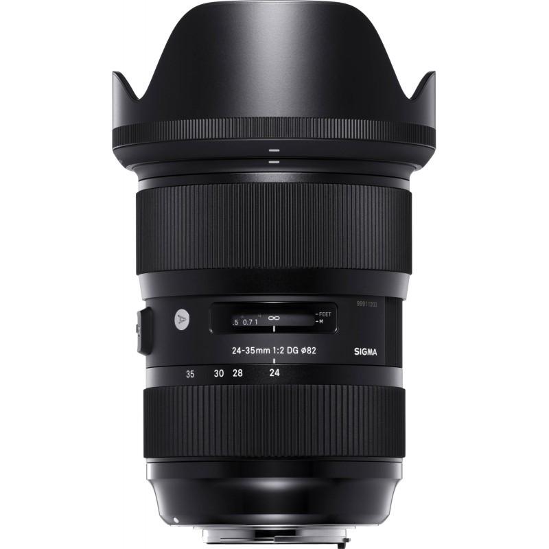 Sigma 24-35mm f/2.0 DG HSM Art objektiiv Canonile