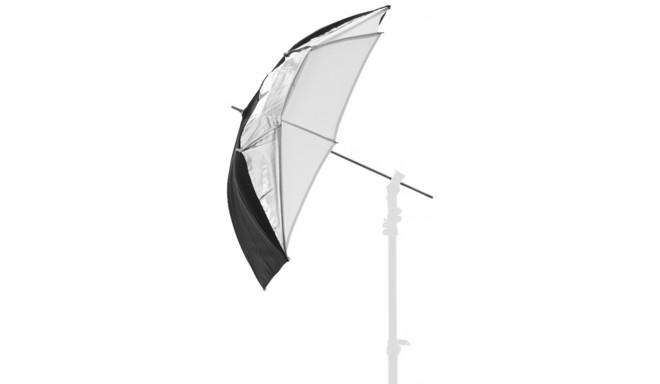 Lastolite vihmavari Dual-duty 93cm, hõbe/must/valge (LA-4523F)