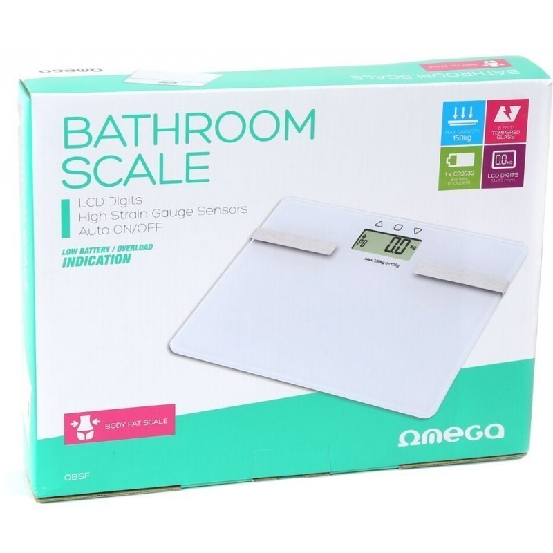 Omega bathroom scale OBSF