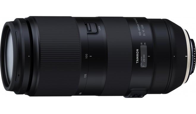 Tamron 100-400mm f/4.5-6.3 Di VC USD objektiiv Nikonile